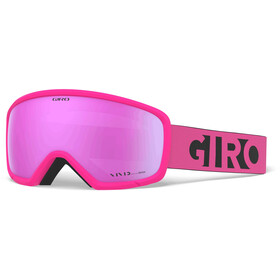 Giro Ringo Masque, pink black blocks/vivid pink